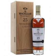 Macallan 25 Years Single Malt Scotch Whisky - Sherry Oak (2019 Edition)