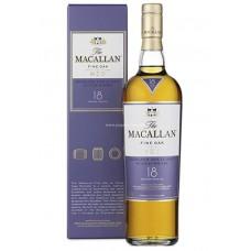 Macallan 18 Years Single Malt Scotch Whisky - Fine Oak