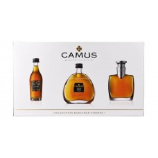 Camus Brandy Miniature Set (A set of 3)