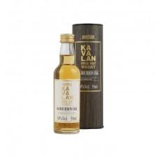 Kavalan ex-Bourbon Oak Single Malt Whisky (Minibottle)