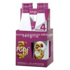 Funf 5 Sangria (4 Bottles Pack)