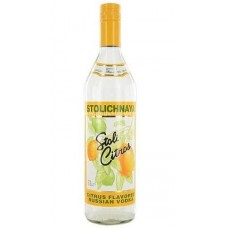 Stolichnaya Premium Vodka - Citrus Flavoured