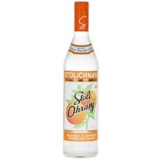 Stolichnaya Premium Vodka - Orange Flavoured