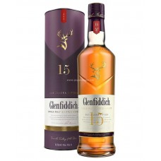Glenfiddich 15 Years Single Malt Scotch Whisky