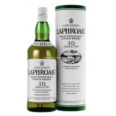 Laphroaig 10 Years Single Malt Whisky - 1L