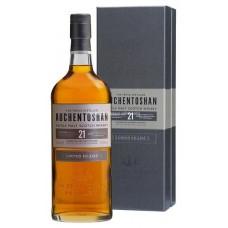 Auchentoshan 21 Years Single Malt Whisky