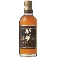 Taketsuru Japanese Pure Malt Whisky 12 Year Old 竹鶴12年 (Without Box)