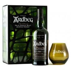 Ardbeg 10 Years Single Islay Malt Scotch Whisky (Gift Set)
