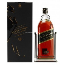 Johnnie Walker 12 Years Black Label Blended Scotch Whisky - 4.5L