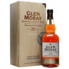 Glen Moray 25yo Portwood Finish Single Malt Whisky