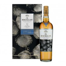 Macallan 12 Years Single Malt Scotch Whisky - Fine Oak (2 Glasses Set)