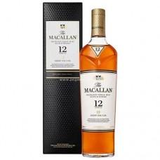 Macallan 12 Years Single Malt Scotch Whisky - Sherry Oak (2018)