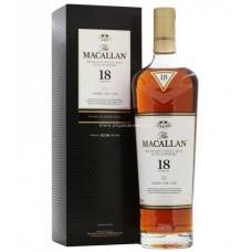 Macallan 18 Years Sherry Oak Single Malt Scotch Whisky (2018)