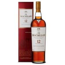 Macallan 12 Years Single Malt Scotch Whisky - Sherry Oak