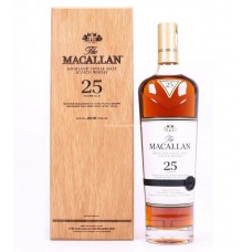 Macallan 25 Years Single Malt Scotch Whisky (2018 Edition)