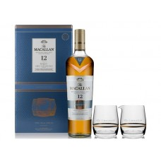 Macallan 12 Years Triple Cask Single Malt Scotch Whisky (Gift Set)