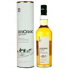 AnCnoc 12 Years Old Highland Single Malt Scotch Whisky