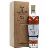 Macallan 25 Years Single Malt Scotch Whisky - Sherry Oak (2019 Edition)