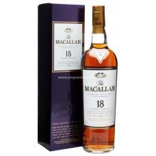 Macallan 18 Years Single Malt Scotch Whisky - Sherry Oak (1992)