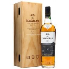 Macallan 21 Years Single Malt Scotch Whisky - Fine Oak