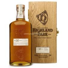 Highland Park 30 Years Single Malt Scotch Whisky