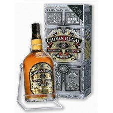 Chivas Regal 12 Years Blended Scotch Whisky - 4.5L