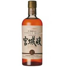 Miyagikyo Japanese Single Malt Whisky 宮城峽12年