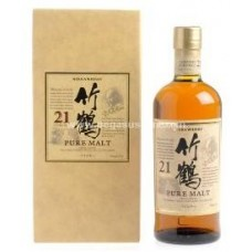Taketsuru Japanese Pure Malt Whisky 21 Year Old (With Box)