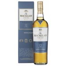 Macallan 12 Years Single Malt Scotch Whisky - Fine Oak